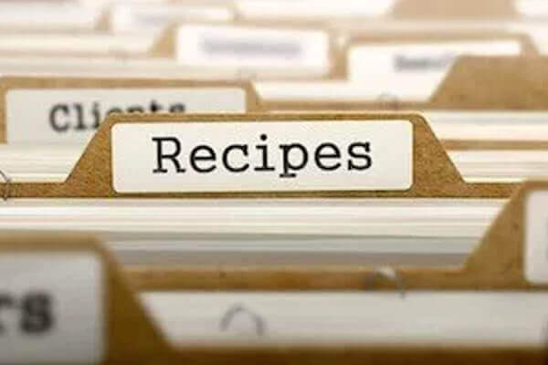 Patents For Recipes