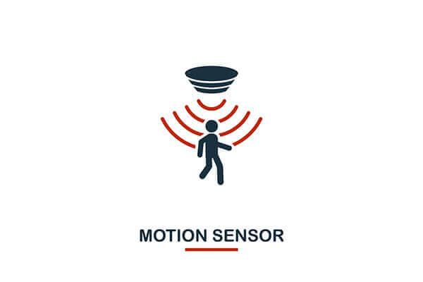 motion sensor - activated rock light